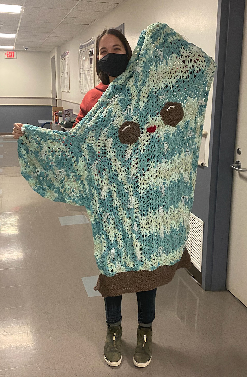 Cactus Blanket from Jackie to Breann
