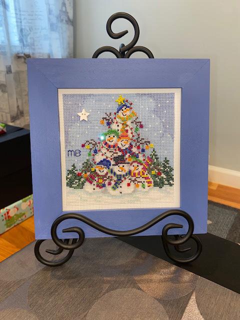 Cross Stitch by Dr. Mary Bridgeman for Alexis Ventoso