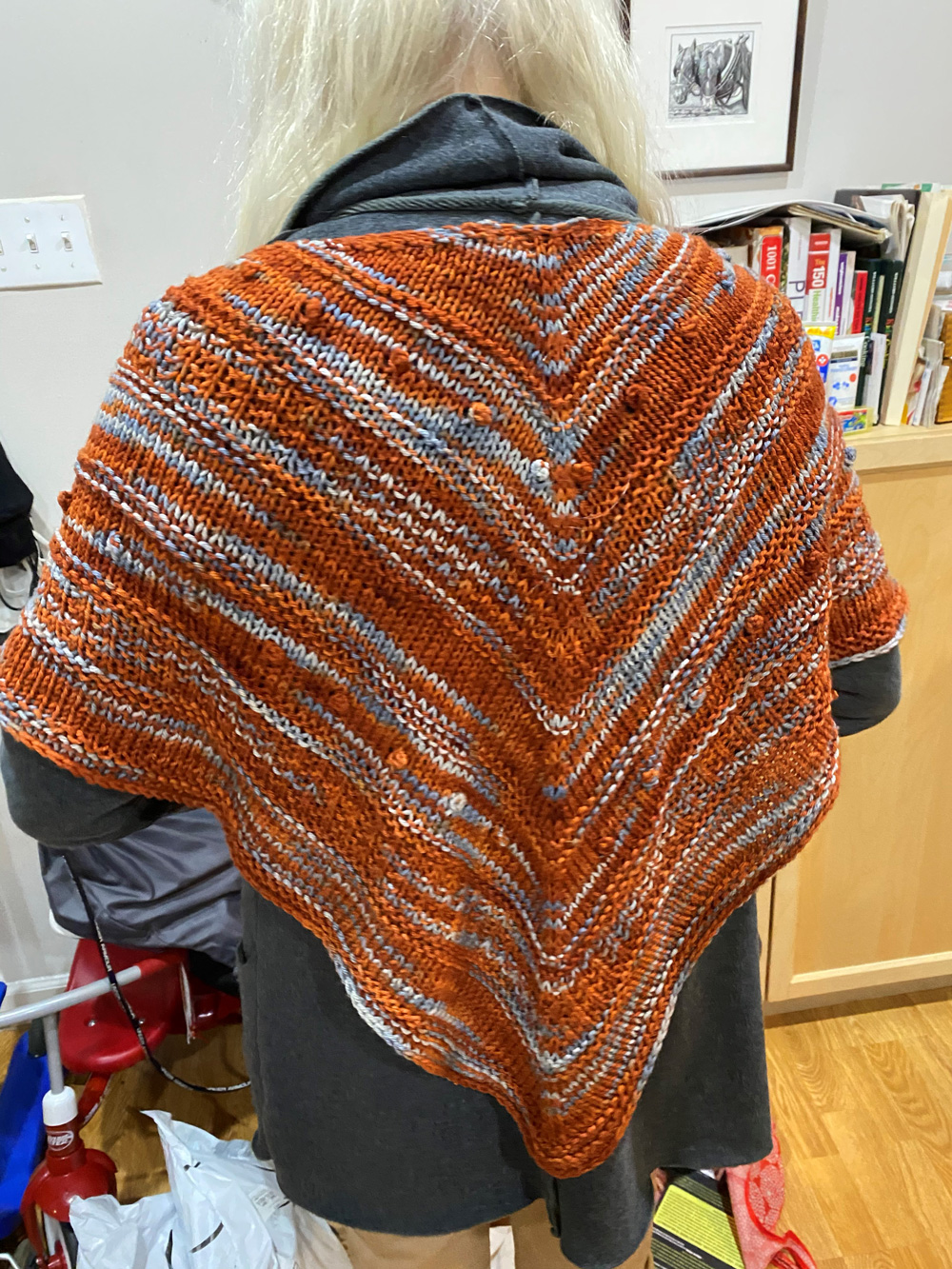 Knitted shawl for Nancy